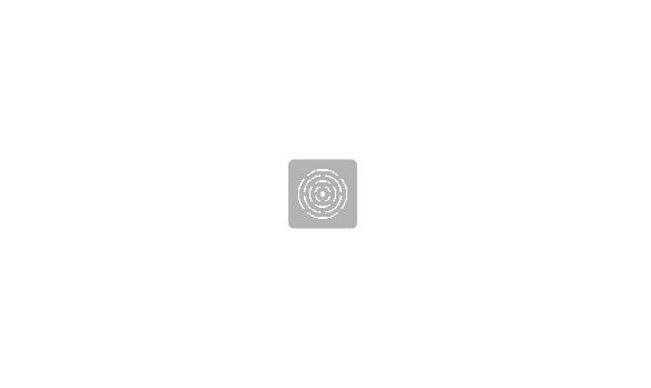 Corte recto con marco.